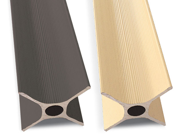 Standard colours Slate Grey (left) and Merino