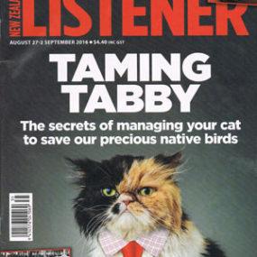 New Zealand Listener cover