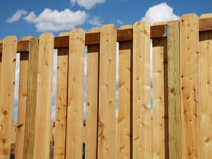 board-on-board fence