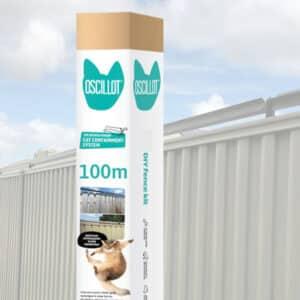 100m Oscillot cat fence kit