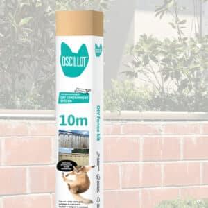 10 metre Oscillot cat fence kit