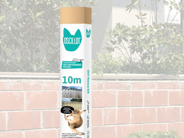 10 metre Oscillot cat fence kit