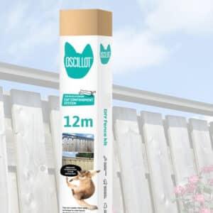 12 metre Oscillot cat fence kit
