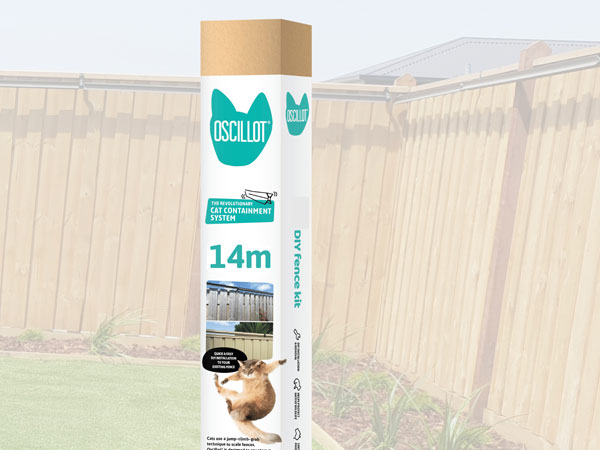 14 metre Oscillot cat fence kit