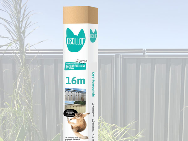 16 metre Oscillot cat fence kit