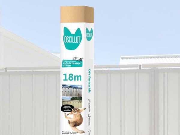 18 metre Oscillot cat fence kit
