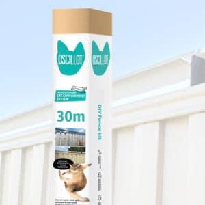 30m Oscillot cat fence kit