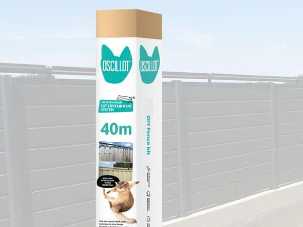 40m Oscillot cat fence kit