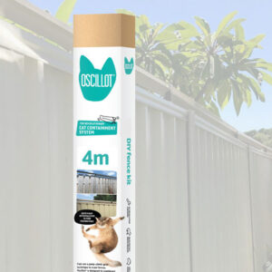 4 metre Oscillot cat fence kit