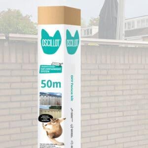 50m Oscillot cat fence kit