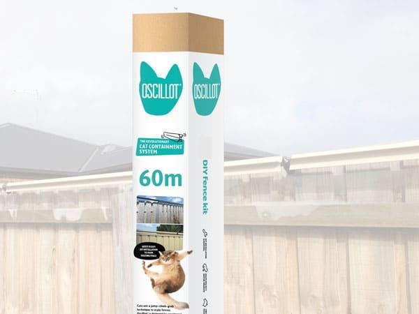 60m Oscillot cat fence kit