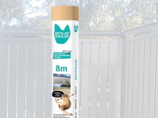 8 metre Oscillot cat fence kit